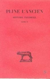 Histoire naturelle L10 - Couverture - Format classique