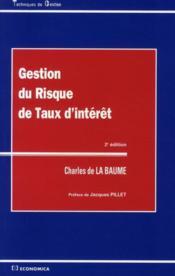 Gestion Du Risque De Taux Interet - Couverture - Format classique