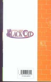 Black cat t.12 ; new weapon - 4ème de couverture - Format classique