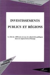 Investissements publics et régions - Couverture - Format classique