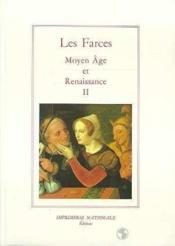 Les farces volume ii (br) - Couverture - Format classique