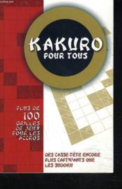 Kakuro Pour Tous (1) - Couverture - Format classique