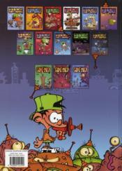 Kid Paddle t.3 ; apocalypse boy - 4ème de couverture - Format classique