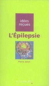 L'épilepsie - Intérieur - Format classique