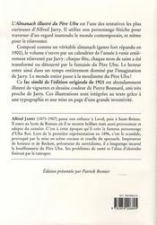 L'almanach illustré du père Ubu - 4ème de couverture - Format classique
