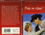 Piege Ou Refuge - Rancher'S Wife - Couverture - Format classique