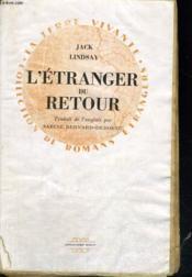 L'Etranger du retour - Couverture - Format classique