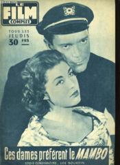 Film Complet N° 676 - Ces Dames Preferent Le Mambo - Couverture - Format classique