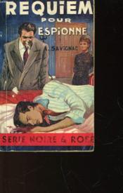 Requiem Pour Espionne - Couverture - Format classique