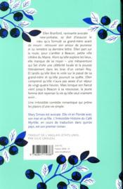 L'irrésistible histoire du Café Myrtille - 4ème de couverture - Format classique