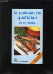 Le poisson au quotidien - Couverture - Format classique
