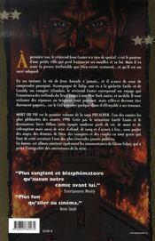 Preacher t.1 - 4ème de couverture - Format classique