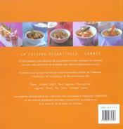 Currys - 4ème de couverture - Format classique