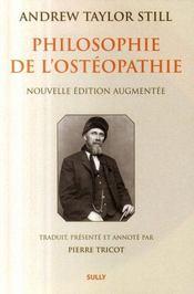 Philosophie de l'ostéopathie - Intérieur - Format classique
