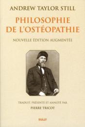Philosophie de l'ostéopathie - Couverture - Format classique