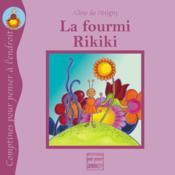 La fourmi rikiki - Couverture - Format classique