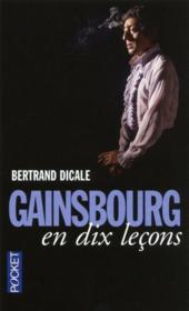Gainsbourg en dix leçons - Couverture - Format classique