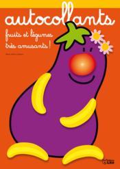 Fruis et légumes tres amusants ; monsieur Aubergine - Couverture - Format classique