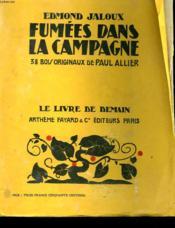 Fumees Dans La Campagne. 38 Bois Originaux De Paul Allier. Le Livre De Demain N° 77. - Couverture - Format classique