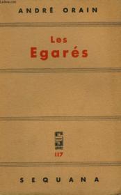 Les Egares. - Couverture - Format classique