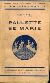 Paulette Se Marie - Couverture - Format classique