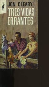 Tres Vidas Errantes. - Couverture - Format classique
