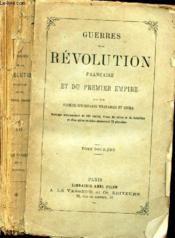 GUERRES DE LA REVOLUTION FRANCAISE ET DU PREMIER EMPIRE - TOME DOUZIEME / 5e COALITION - GUERRE D'ALLEMAGNE, D'ITALIE, D'ESPAGNE, DE FRANCE , DES ANTILLES; GUERRE DE LA MER DES INDES. - Couverture - Format classique