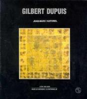 Gilbert dupuis - Couverture - Format classique