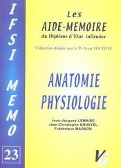 Anatomie Physiologie - Intérieur - Format classique