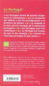 Le Portugal - 4ème de couverture - Format classique