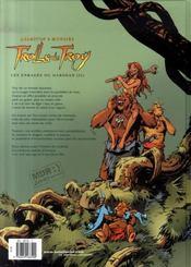 Trolls de Troy T.10 ; les enragés du Darshan t.2 - 4ème de couverture - Format classique