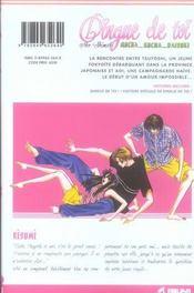 Dingue de toi ! t.2 - 4ème de couverture - Format classique