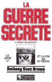 La Guerre Secrete T2 - Couverture - Format classique