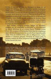 La melancolie du malecon - 4ème de couverture - Format classique