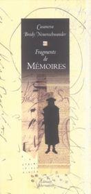 Fragments De Memoires - Intérieur - Format classique