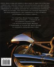 Motos rapides ; bolides d'hier et d'aujourd'hui - 4ème de couverture - Format classique