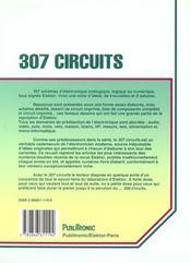 307 circuits - 4ème de couverture - Format classique