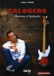 Calogero ; chansons et spectacles - Intérieur - Format classique