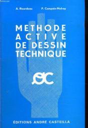 Methode Active De Dessin Technique - Couverture - Format classique