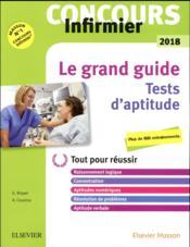 Concours infirmier ; tests d'aptitude (édition 2018) - Couverture - Format classique