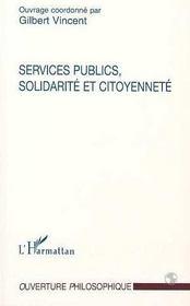 Services Publics, Solidarite Et Citoyennete - Intérieur - Format classique