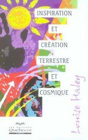 Inspiration Et Creation Terrestre Et Cosmique - Intérieur - Format classique