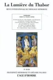 Lumiere Du Thabor 47-48/2003 - Couverture - Format classique