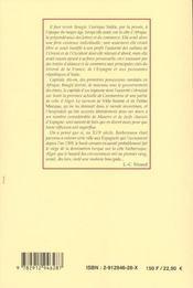Histoire de bougie - 4ème de couverture - Format classique