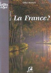 La France ? - Intérieur - Format classique