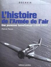 L'histoire de l'armee de l'air - Intérieur - Format classique
