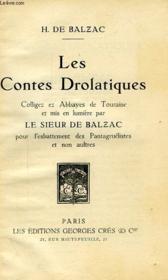 Les Contes Drolatiques, I & Ii - Couverture - Format classique