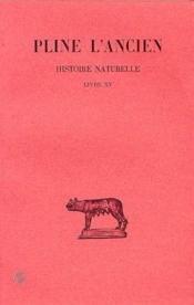 Histoire naturelle L15 - Couverture - Format classique