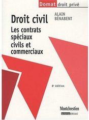 telecharger Droit civil – les contrats speciaux civils et commerciaux livre PDF en ligne gratuit