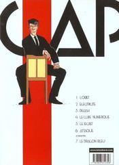 Capricorne t.3 ; deliah - 4ème de couverture - Format classique